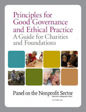 Principles for Good Governance and Ethical Practice: A Guide for Charities and Foundations