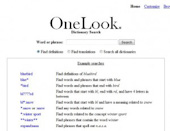One look Dictionary